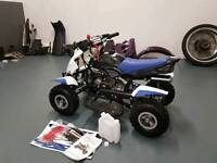 Quad bike for sale brand new just been built never had fuel.