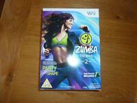 Nintendo Wii Zumba Fitness 2 (includes Zumba Fitness Belt)