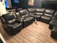 Sofology Corner Leather Sofa