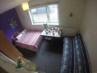 SPACIOUS DOUBLE BOW with COMFY SOFA // ZONE 2 ** NEXT TO TUBE