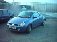 colchester street ka winter pack with hard top 1.6 54 plate 01206 397415
