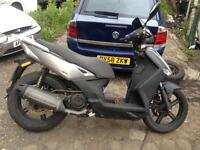 2014 64 Kymco agility 125cc city uprated wheels bargain