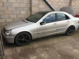 2004 54 Mercedes C180 Kompressor W203 Auto *BREAKING FOR SPARES* Only Done 78000 Miles Silver