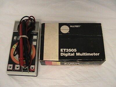 1 Used Mac Tools Digital Multimeter Et3505