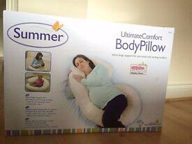 Summer body pillow