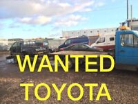 Toyota hiace Hilux land cruiser vehicles wanted