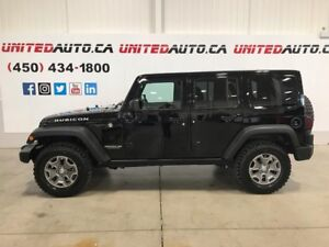 2017 Jeep WRANGLER UNLIMITED Rubicon navigation low km