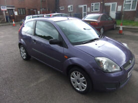 Ford Fiesta 1.25 Style Climate 3dr HN58DXA,2008, 59562 miles, Cat C