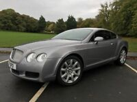 05 plate Bentley continental 6.0 GT full history and mot