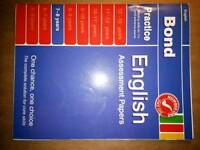 Bonds English Assessment Papers 7-8 years book