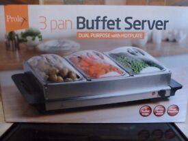 Buffet server/hot plate.