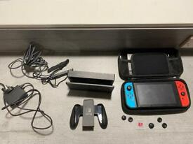 Nintendo Switch Bundle with games and accessories and 3 year warranty