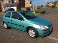 Vauxhall Corsa 1.0 2005 12 Months MOT Immaculate as Fiesta Clio Punto KA 107 206 C1 Polo Micra Aygo