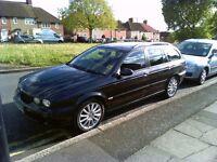 2005 Jaguar X-Type Sport 2.0 turbo diesel estate, new 1 year MOT, Sat Nav, half leather,,,,