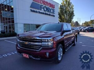 Red 2016 Chevrolet Silverado 1500 High Country w/Leather Seats