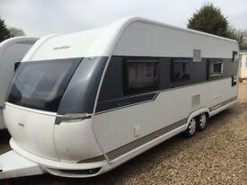 Hobby Caravan 650 Kfu Prestige (2015) Bunk Beds