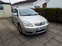 Toyota Corolla 1.6 5dr - Low mileage - Full Service history - £1,955.00 ono