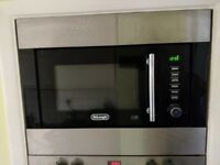 Integrated DeLonghi Microwave in good working order