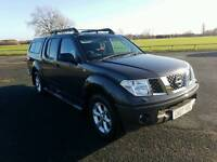 Nissan Navara Outlaw 2.5 diesel manual with new MOT in good running order