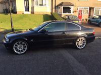 BMW 3 Series 320ci Black Coupe Petrol