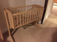 Mothercare baby cot in perfect condition