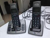 Set of telephones come with answer machine