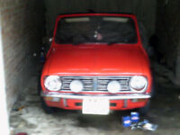 Classic Mini Convertible 1972