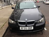 EXCELLENT CONDITION BMW 3 SERIES 2.0 320d, BLACK, Saloon 4dr Diesel Manual