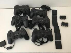 PS2 Controller Bundle