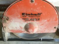 Einhell new generation tpr 200/2 wet tile saw