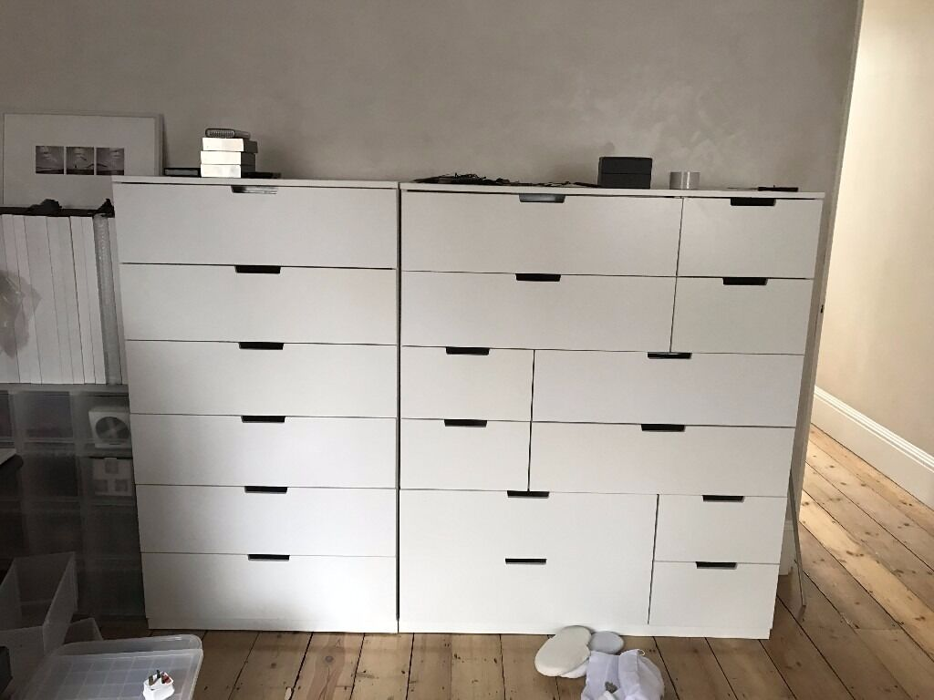 nordli ikea chest of 6 drawers retail 159 excellent in kilburn london gumtree. Black Bedroom Furniture Sets. Home Design Ideas