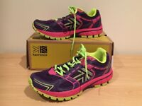 Ladies/Girls Karrimor Trainers Trail Run 2 LD63 - Size UK 5 (Eur 38) - very good cond