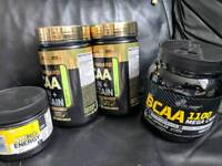 Optimum nutrition gold and olimp bcaa protein supplement bundle