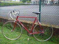 Talbot 10speed French Road Bike Steel Frame L-60cm Solid Hitensile Steel Frame-Fast Maillard Wheels
