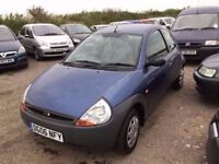 2006 FORD KA WITH FULL SERVICE HISTORY IN CLEAN CONDITION IN AND OUT DRUVES LIKE NEW PX WELCOME