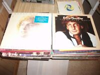 LP RECORDS AND SINGLES