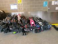 Job lot of 50 buggies/strollers..sale clearance