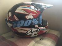 Arai vx-3 Mx enduro helmet