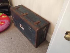 For Sale Large Vintage chest