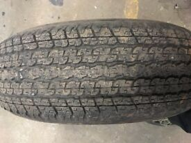4 Bridgestone Dueller Tyres 245/45/R17 111s 7mm tread all the way round on all tyres