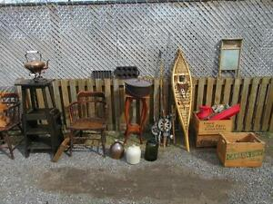 AUCTION SALE   TUESDAY, MAY 31, HERITAGE BLDG.  (C.L.E.)