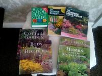 7 GARDENING BOOKS FOR SALE