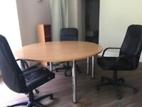 desks and tables, excellent condition