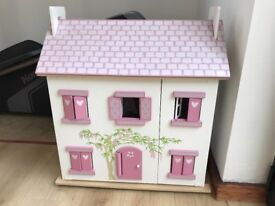 Le Toy Van House with Le Toy Van furniture sets all in amazing condition .