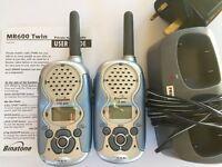 Pair of walkie talkies