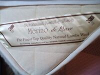 HEATED MASSAGE UNITED---MERINO LAMBSWOOL COVERED--ELECTRICALLY OPERATED -WITH SEVERAL CHOICES