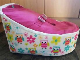 Beanbag Planet Baby Beanbag Owl design with 2 extra covers
