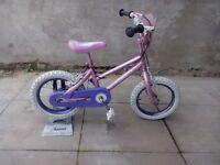 "Disney Princess 14"" wheels girls bike"