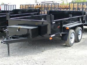 2017 Advantage 3.5 TON DUMP TRAILER DTS610T3