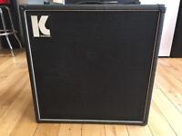 Kustom 1-15B SRO 1x15 bass cabinet late 1970's
